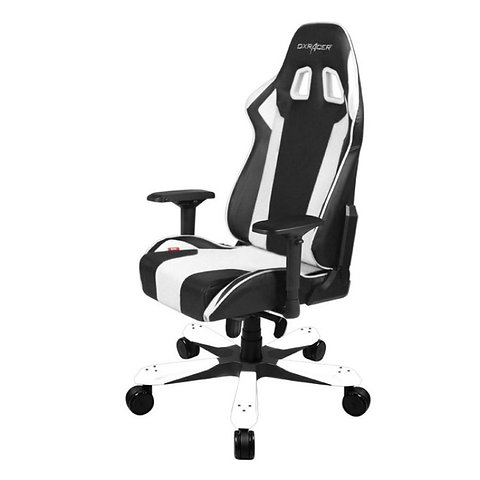 Miraculous Dxracer King Series Gaming Chair Black White Machost Co Dining Chair Design Ideas Machostcouk