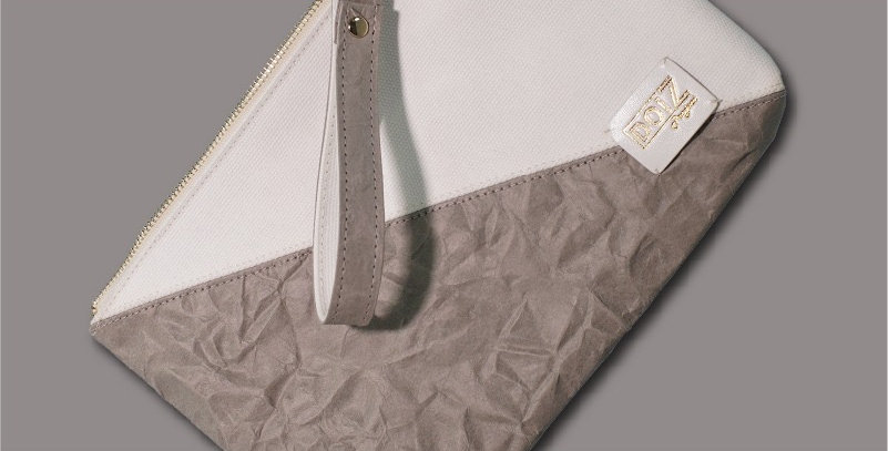 Paper Canvas Clutch