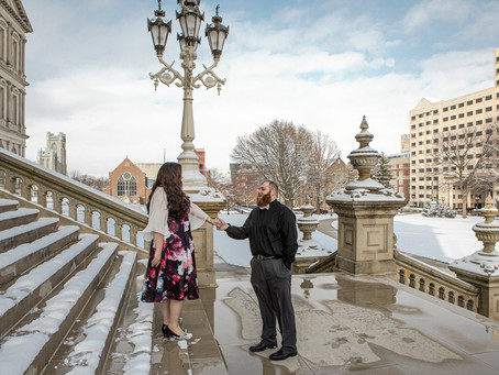 Engagement Photo Session in Lansing