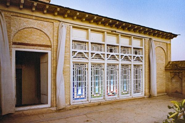 O mais recente podcast do Bahá'í World News Service focou na declaração histórica do Báb. Esta foto mostra a parte superior da casa do Báb.