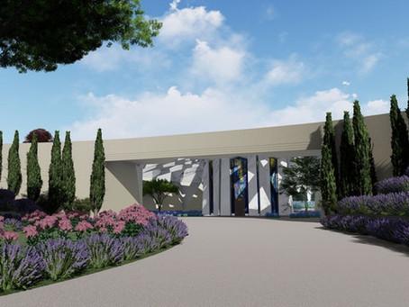 Casa Universal de justiça apresenta o conceito do design para o Santuário de 'Abdu'l-Bahá
