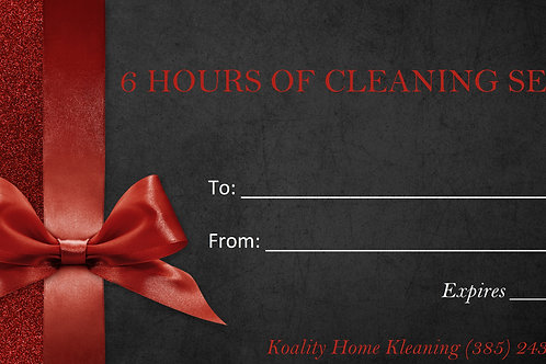 6 Hour Gift Certificate