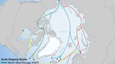 Primary Arctic Shipping Routes