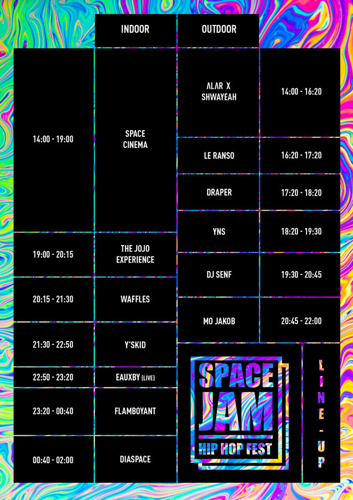 Space Jam X Line Up