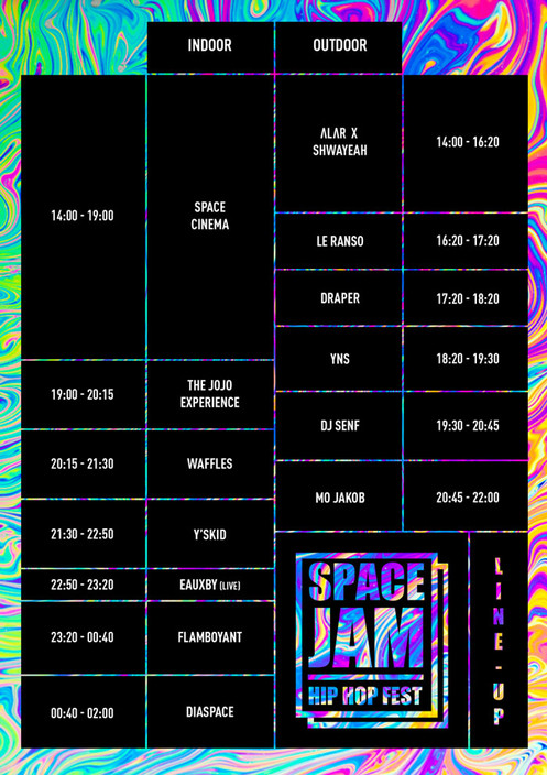 Space Jam X Line Up