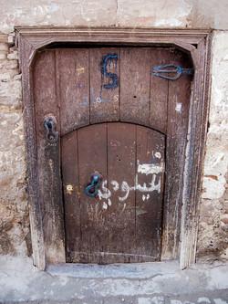 Jewish Marks on Door