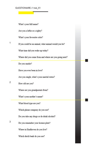 Questionnaire v1