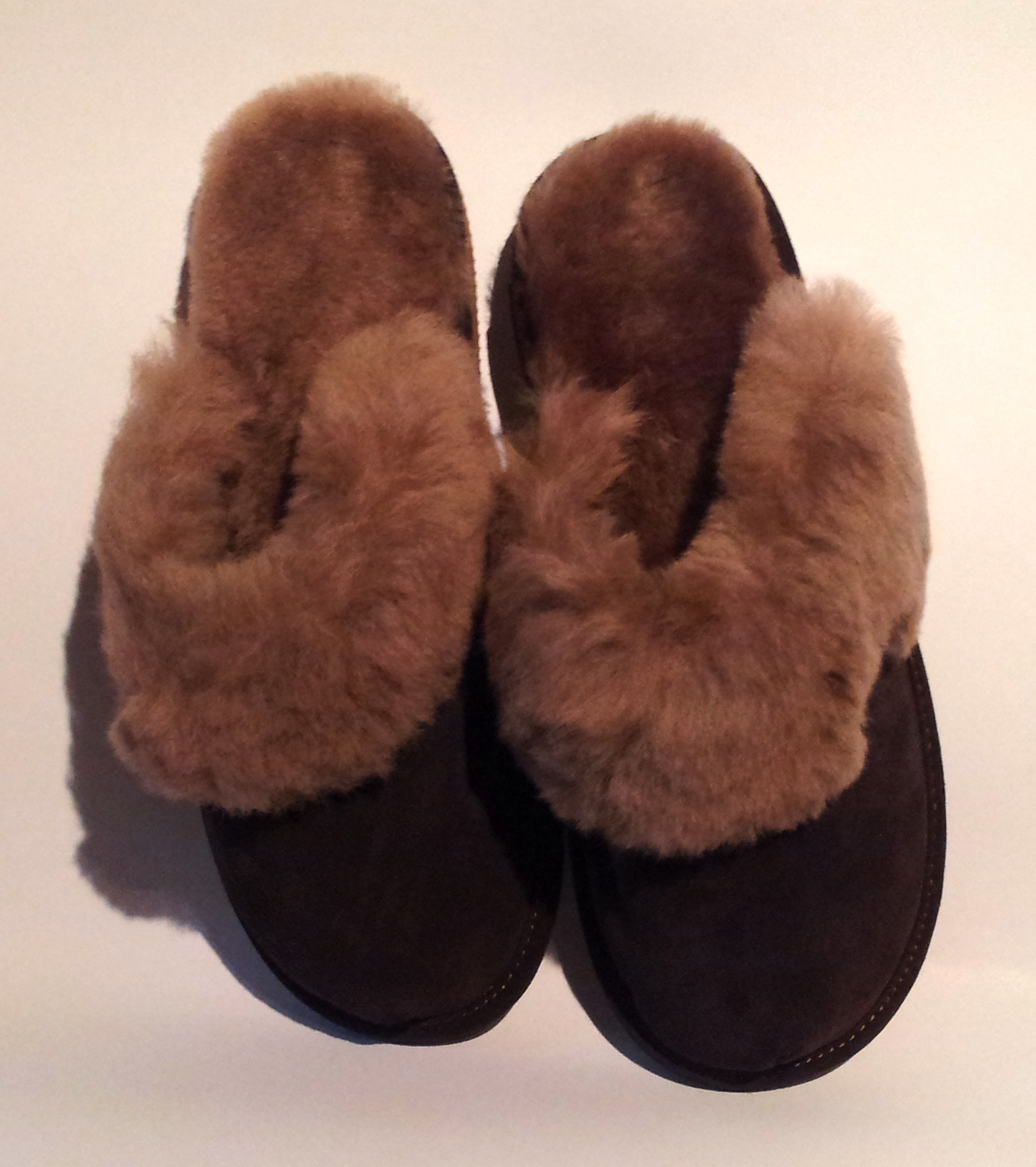 Our Luxury sheepskin slippers range