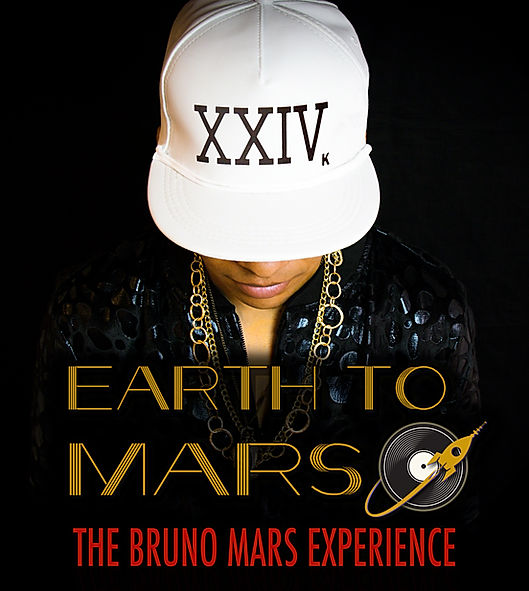 EARTH TO MARS Band Bruno Mars Tribute Show Experience Uptown Funk Band