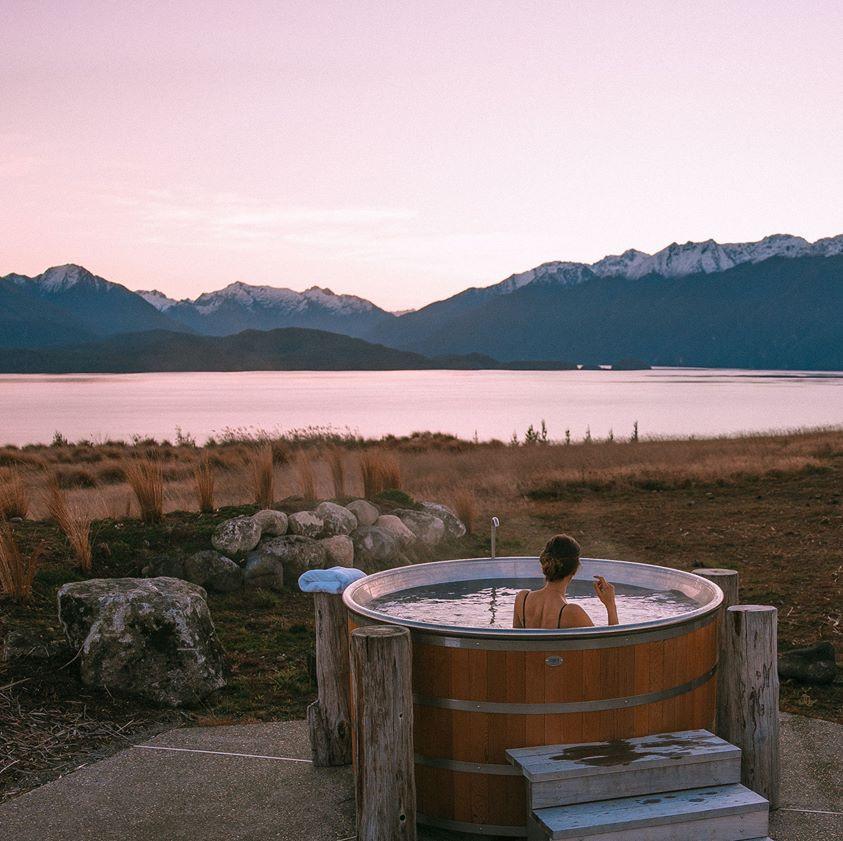 Fiordland Lodge Outdoor Spa