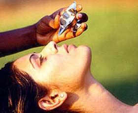 nasya treatment ayushman bhava ayurveda