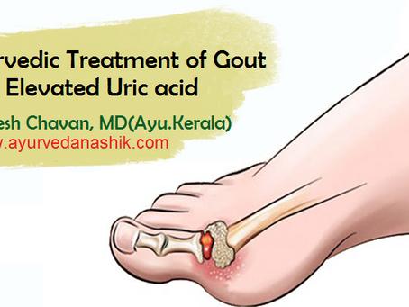 Ayurvedic Treatment of Gout/ Elevated Uric Acid