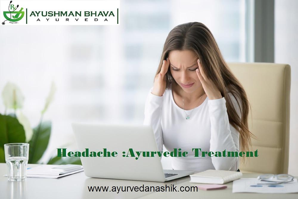 Migraine Ayurvedic Treatment in Nashik