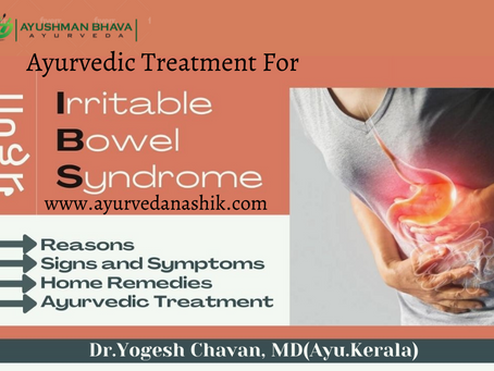 Treatment of IBS/ Digestive Diseases: Ayurveda is for your rescue