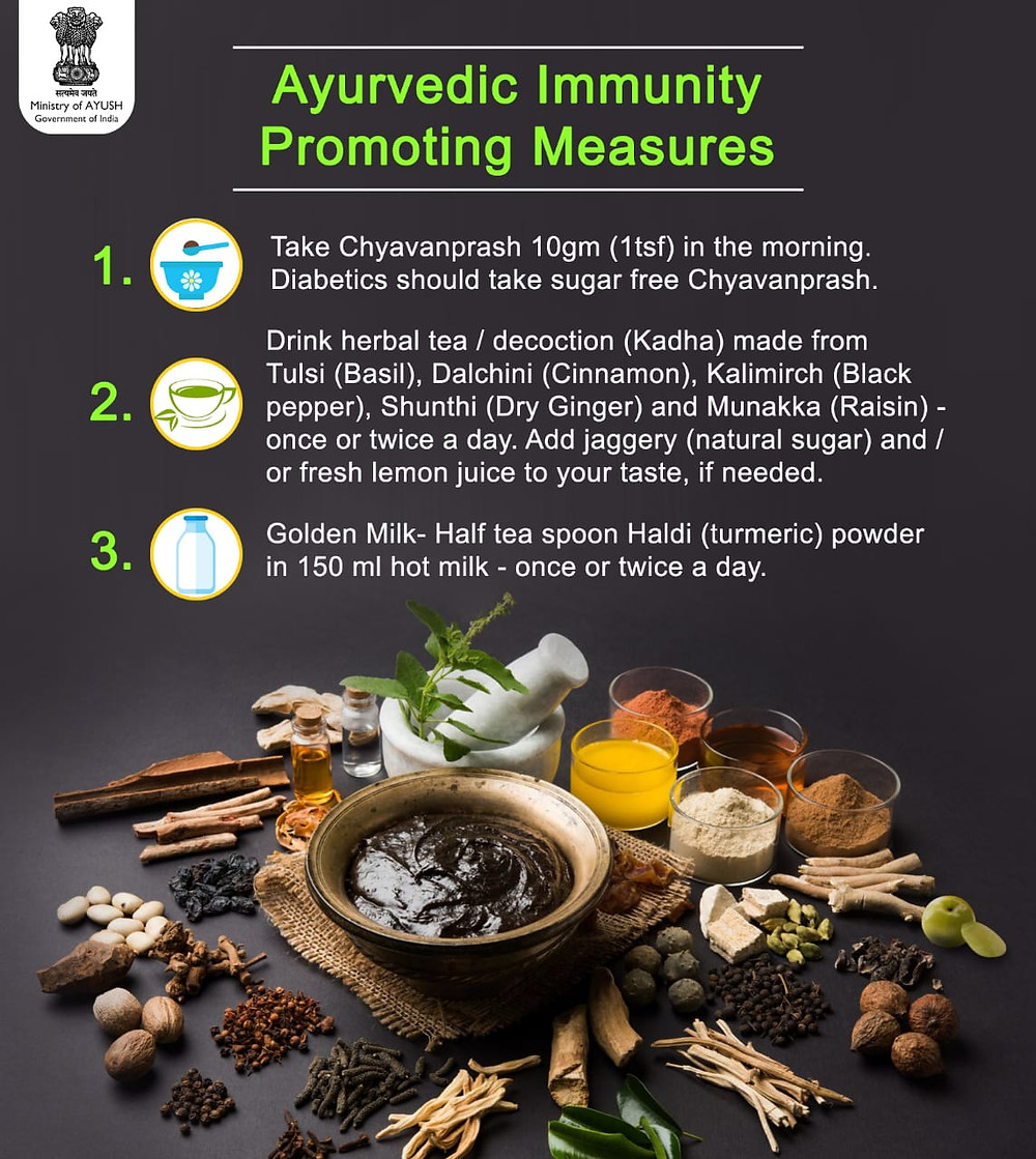 Ayush ministry ayurvedic tips to boost immunity