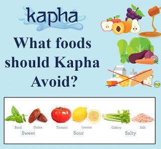 Ayurvedic  diet for Kapha