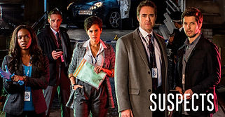Suspects Channel 5 Production Design Damien Molony and Clare-Hope Ashitey.