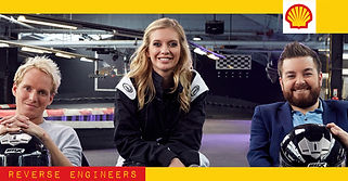 Shell Oil Commercial Reverse Engineers Rachel Riley Alex Brooker Jamie Laing Channel 4