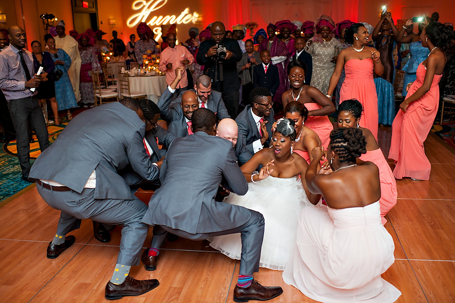 Nigerian/American wedding