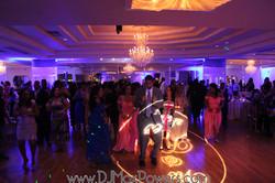 Wedding reception at the Villa
