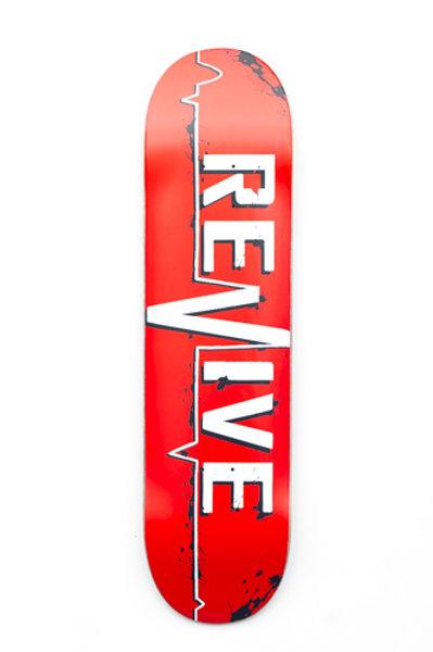 Revive Skateboards Red Lifeline Deck