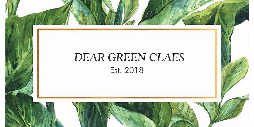 Dear Green Claes Pop Up Event