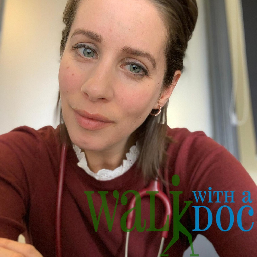 Dr Laura Freeman and Walk with a Doc