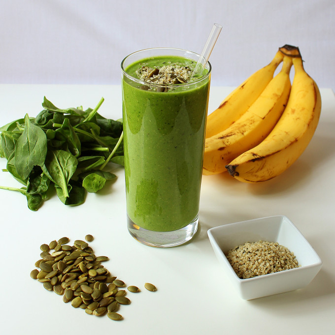 Green Protein Power Breakfast Smoothie