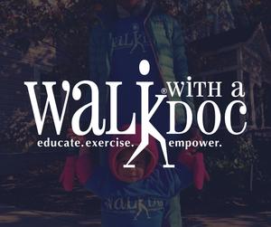 Walk with a Doc logo Facebook