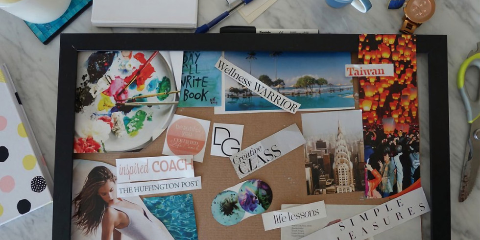 2020 Vision Boards by Shuna Mercer