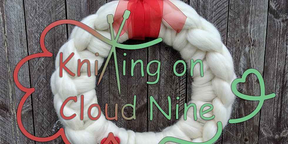 Christmas Wreath Making Workshop by Knitting on Cloud Nine