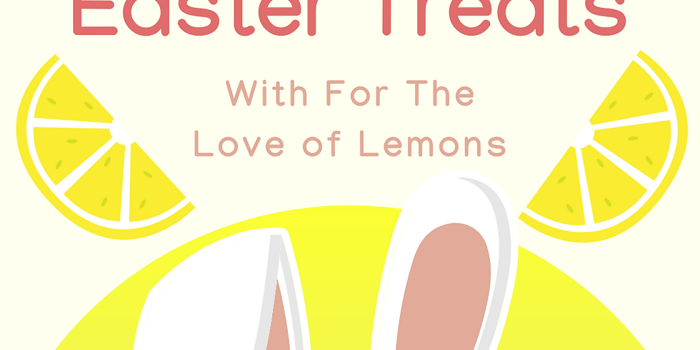 Easy Vegan Easter Treats with For The Love of Lemons