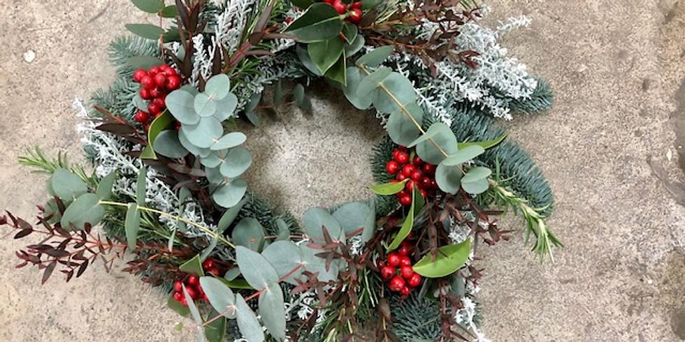 Festive Flora Wreath Making Workshop with Ollie & Ivy