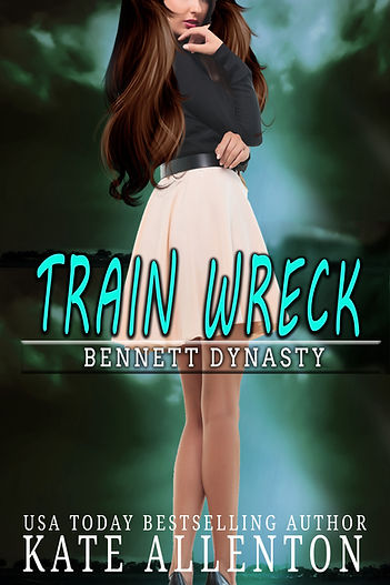 TRAIN WRECK- HONOR'S COVER- GREEN AND BL