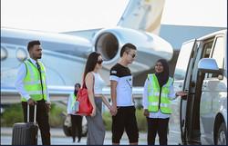 Meeting on Arrival & Departure