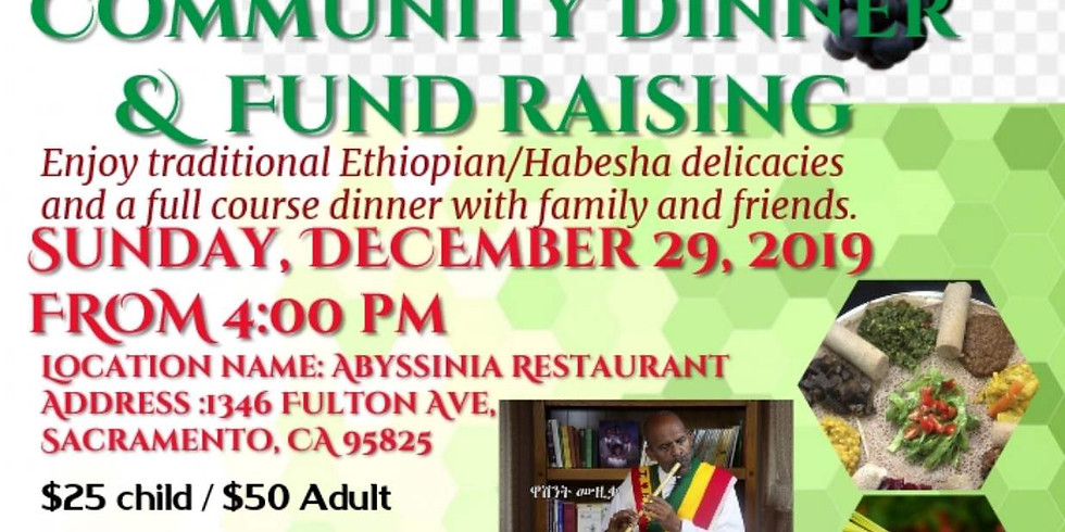 Dinner and fund raising