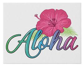 Aloha Wall Cnvas