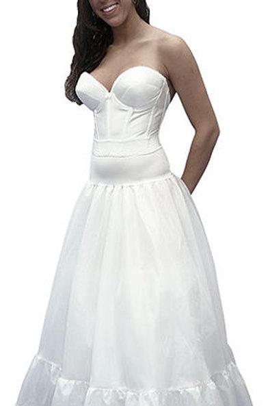 Spandex Waist Petticoat A-Line