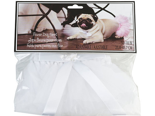 Flower & Tulle Dog Skirt