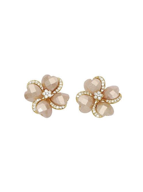 Maggie Button Earrings