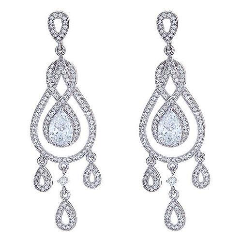 Claire Chandelier Earrings