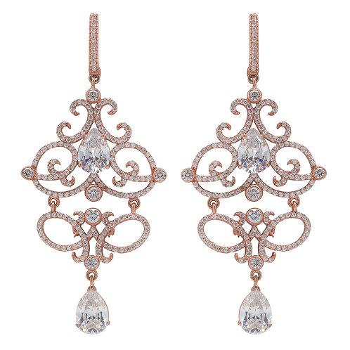 Josephine Scroll Earrings