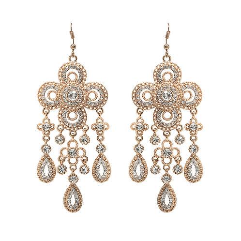 Gia Chandelier Earrings