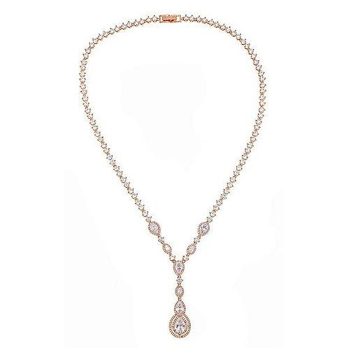 Claire Long Drop Necklace
