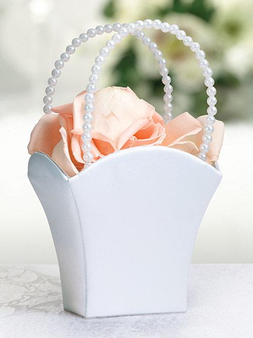Square Satin Flower Basket