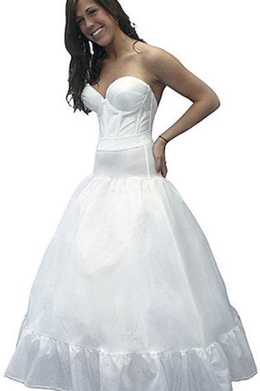 Spandex Waist Petticoat Full Bouffant