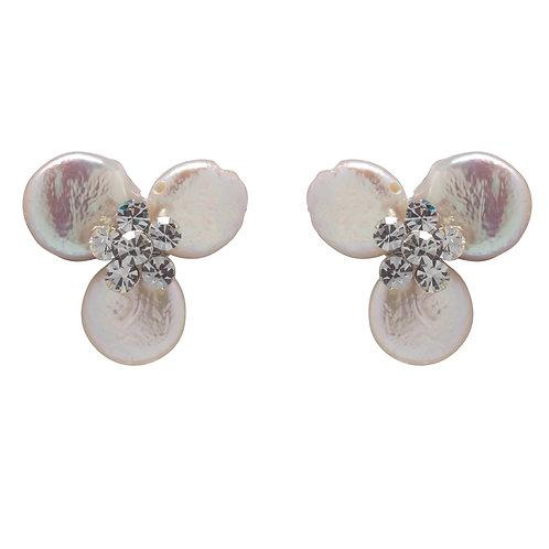 Madeline Button Earrings