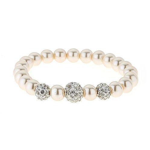 Luna Crystal Ball Bracelet