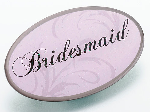 Bridesmaid Pink Pin