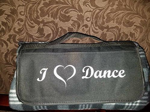 I Love Dance Blanket